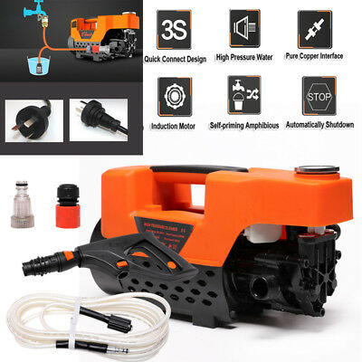 Pro Electric High Pressure Water Cleaner Washer Gun Hose Pump Cleaning Gurney