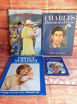 CHARLES AND DIANA In Australia. PORTRAIT of A PRINCE. WILLIAM ROYAL BABIES BOOKS