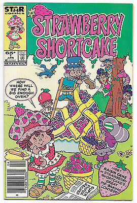 Strawberry Shortcake #1 (Apr 1985, Marvel Comics) Newsstand Edition Toy Tie In