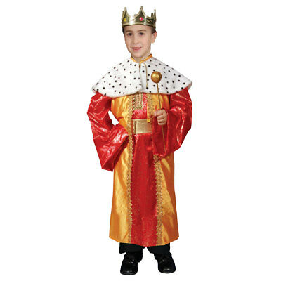 Regal Deluxe King Costume Set For Kids By Dress up America