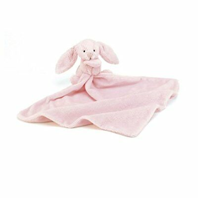 Jellycat Bashful Pink Bunny Soother Security Blanket