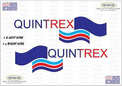 Quintrex Decal X 2 (450mm x 130mm)