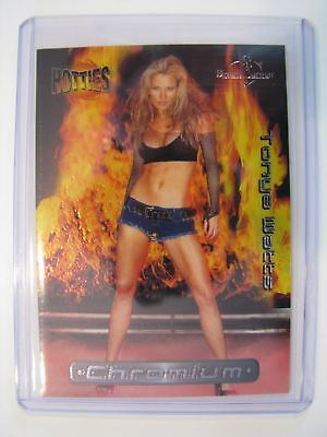 2002 BENCHWARMER HOTTIES TONYA WATTS 5 of 8