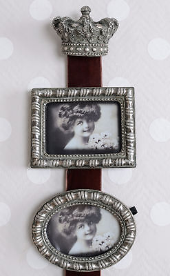 Photo Frame Crown Picture Frame Photo Gallery Antique Frame Shabby Chic Frame