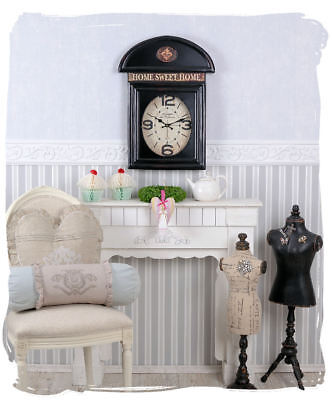 Vintage Watch English Phone Booth Wall Clock Antique Style
