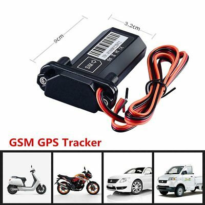 Mini Vehicle Bike Motorcycle Car GPS GSM GPRS Real Time Tracker Tracking Device