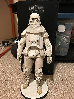 SNOWTROOPER EXCLUSIVE SIDESHOW Star Wars Collectibles 1/6 Scale Figure