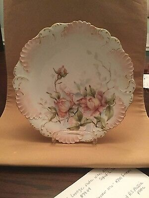 """Limoge 9"""" vintage collectable plate"""