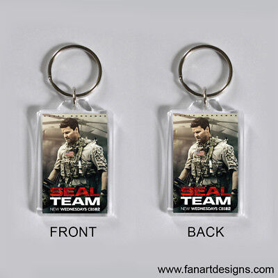 Seal Team - David Boreanaz - Max Thieriot - A J Buckley -  Photo Keychain #1