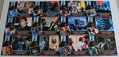 Tom Burlinson Time Guardian lobby card set 12 Carrie Fisher sci fi