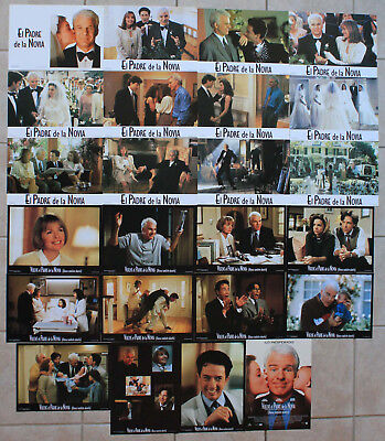 Steve Martin two Spanish lobby card sets Diane Keaton Father of the Bride