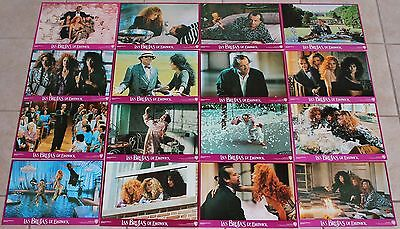 Cher Susan Sarandon Witches of Eastwick lobby card set 16 Michelle Pfeiffer