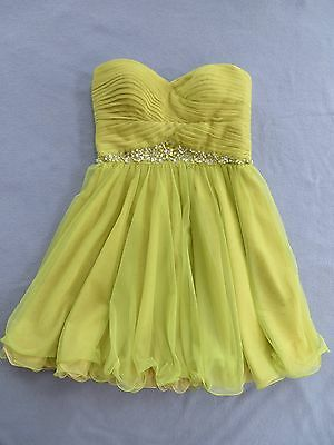 Adrianna Papell Womens Older Girl Teen Evening Party Formal Short Dress Size 8
