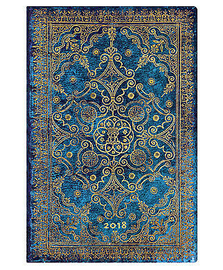Diary 2018 Paperblanks Azure Mini Week To View HORZ 141x96mm