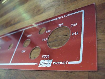 AC50 + other models Repro Vox JMI vintage amplifier Copper fascia control panel