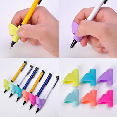 Children Pencil Holder Writing Hold Pen Grip Posture Correction Tools X 3