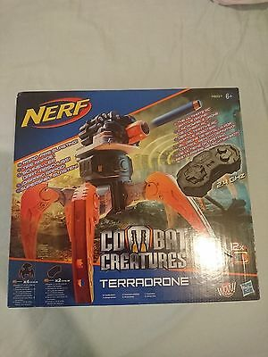 Genuine Nerf Combat Creatures Terra Drone 2.4 GHz wireless remote-controlled