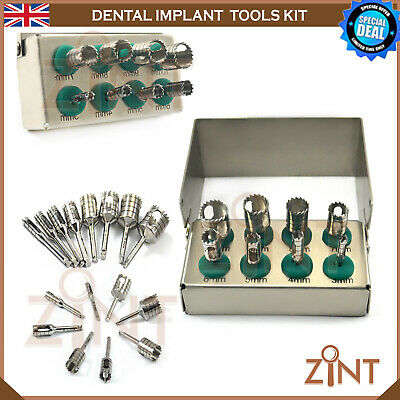 Trephine Drill kit Mini Implant Surgical Surgery Instrument With Free Bur Holder