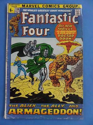 Fantastic Four 116 1971 Squarebound Giant Classic Cover!