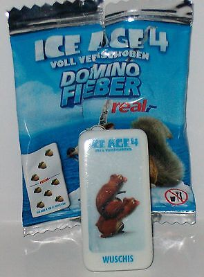 Real  Domino Stein  - Wuschis ( Nr. 15 ) -  aus  ICE AGE 4