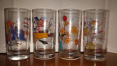 Looney Tunes Year 2000 + Extreme Sports Collectible IXL Glasses