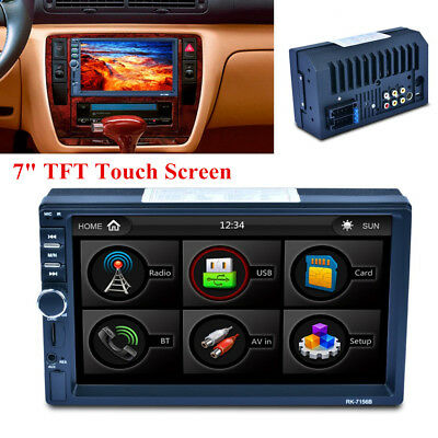 "7"" TFT Touch Screen Auto Car MP5 Player Bluetooth with Remote Control AM/FM/RDS"