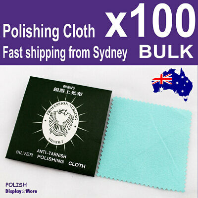 10 Silver POLISH Cloth Polishing | Anti tarnish Cleaner | AUS Stock | OZ Seller