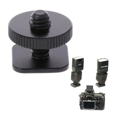 1/4'' Single Layer Tripod Mount Screw to Studio Flash Hot Shoe Adaptor For Nikon
