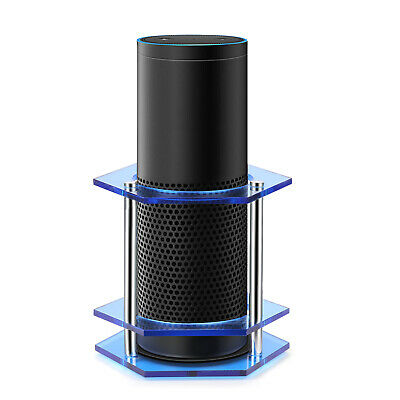 Speaker Stand Guard for Amazon Echo / UE Boom and Other Models Anti-Slip (Blue)