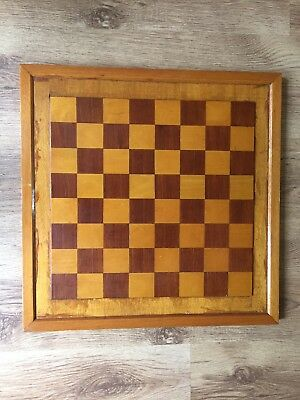Vintage Wooden Chess Board