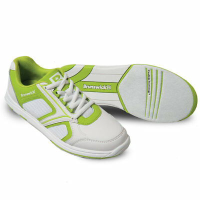 Bowling Shoes Brunswick Ick Spark White Lime, Ladies' Shoes, Size 36 Bis 41