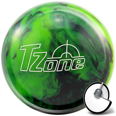 Bowling Ball Brunswick Ick TZone Green Envy 6-16 lbs for Spare & Strike