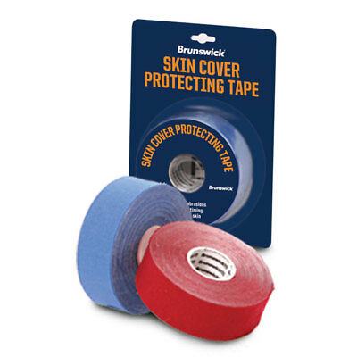 Brunswick Ick Bowling Ball Skin Protecting Tape, Protection, Patch, Blue or Red