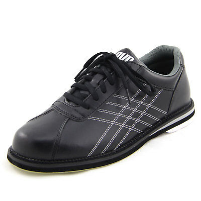Men's Bowling Shoes DV8 Tactic Black, Right or LEFTHAND, Size 39 - 50