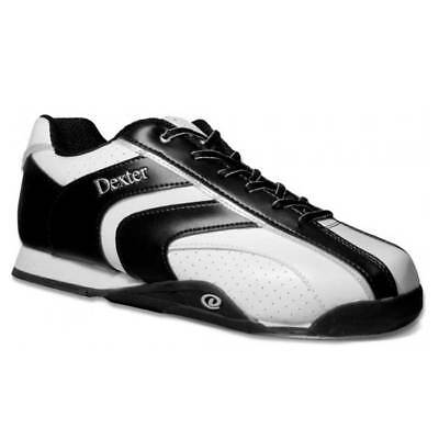 Bowling Shoes Dexter Nick White Black, Men's Shoes, RIGHT AND LEFTHAND