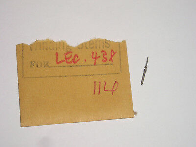 Lecoultre winding stem 424 436 437 438 11L tige de remontoir Aufzugswelle th.90