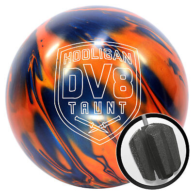 Bowling Ball DV8 Hooligan Taunt Trouble Maker 10-15 lbs Bowling Ball Reactive