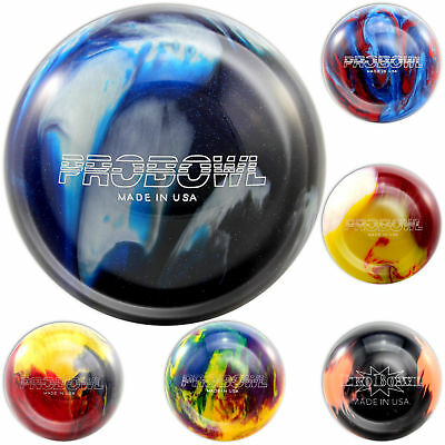 bowling ball ebonite pro bowl 8-15 lbs for Spare & Strike SELECTION OF COLOURS