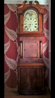 Thomas Milner moon phase Grandfather clock