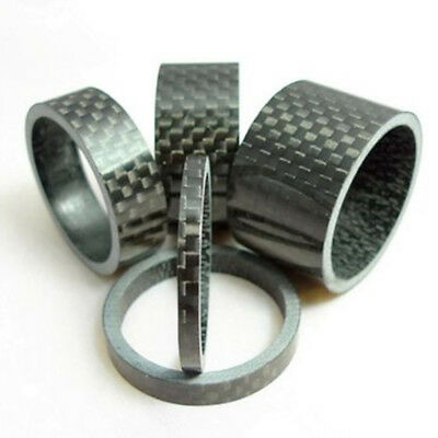 Washers Headset Spacer 3/5/10/15/20mm 1 1/8 in Road Bike Bicycle Stem UK