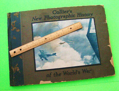 Orig'l 1918 COLLIER'S PHOTOGRAPHIC HISTORY OF THE WORLD WAR (WW I) Huge H-C Book