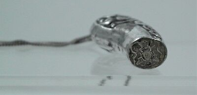 Antique Sterling Silver Royal Coat of Arms Wax Seal