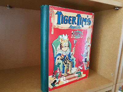 TIGER TIM'S ANNUAL 1926 -  nice condition!