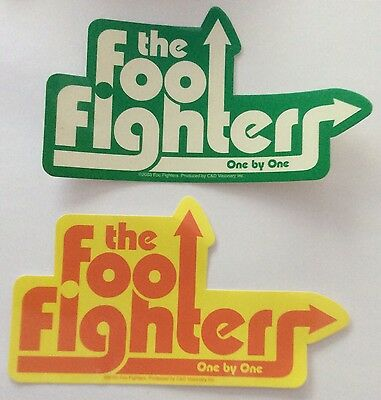 2x foo fighters one by one official stickers