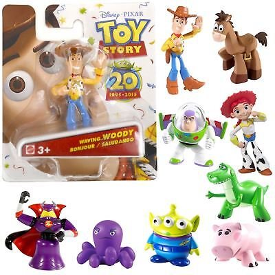 Toy Story 20th Anniversary Mini Figures Collectible Friends Woody Buzz Jessie