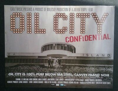 Dr Feelgood - Oil City Confidential - Cinema Poster