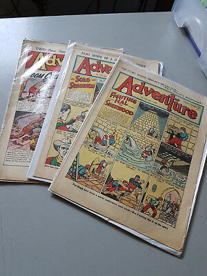 ADVENTURE COMIC No. 1277, 1303 and 1530 from 1949-1954 D. C. Thomson