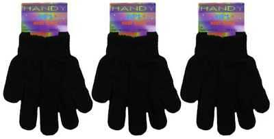 Kid's Magic Stretch Winter Gloves Warm,Comfy Glove One Size Fits All Gloves