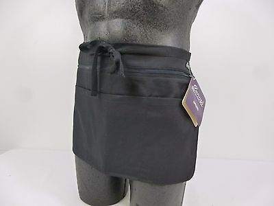2x NEW Dennys Waist Money Pocket Belt Pouch Apron Zip Pockets Bar Trader C1 (AP5