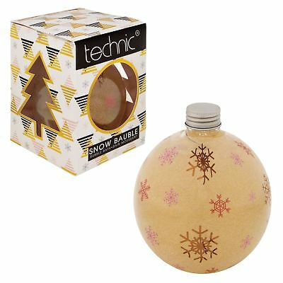 Technic Snow Bauble Bubble Bath and Body Toiletries Novelty Ladies Gift Set